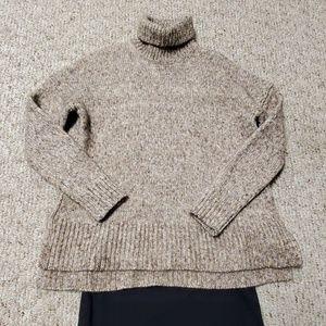 Large J. Crew oversized sweater.